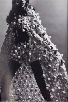 1969 - Ungaro wedding gown by Peter Knapp