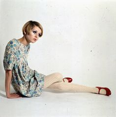 A look back at Twiggy, revealed in pictures and with quotes from Vogue, on her 65th birthday.
