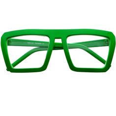 d3cdf24ccbbf Colorful Retro Style Clear Lens Party Square Flat Top Glasses - FREYRS -  Beautifully designed