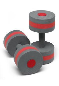 Speedo Aquatic Barbells - made of foam for buoyant resistance