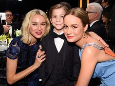 What You Didn't See at the SAG Awards 2016 The Best Shots from Inside the Show  Naomi Watts, Jacob Tremblay and Brie Larson