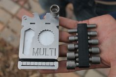 The MULTI. The First Multi-Tool Wallet! by Wilson Alvarez