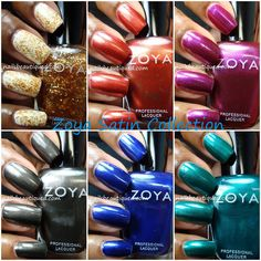 Zoya Satin Fall 2013 Collection | Nails Beautiqued