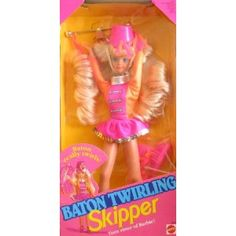 Baton Twirling Skipper-NO WAY!!! how come i never saw one of these when i was little!?!?