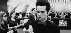 Look at him in this bow tie