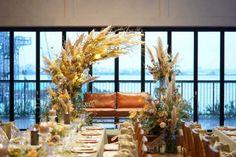 Boho Wedding, Wedding Flowers, Wedding Decorations, Table Decorations, Moisturizer For Dry Skin, Flower Images, Wedding Coordinator, Wedding Images, Dried Flowers