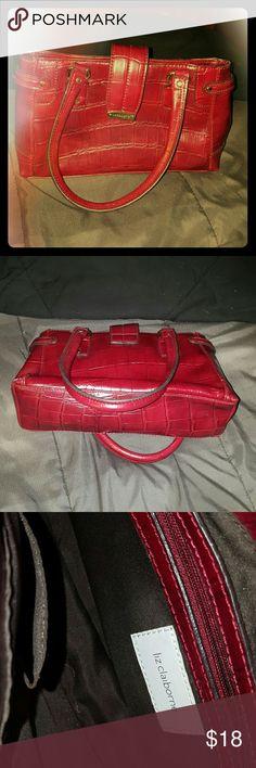 Liz Claiborne Handbag Deep Red Liz Cairborne small handbag. Cute little bag to accentuate any little black dress. Offers always welcome! ???????? Bags Mini Bags