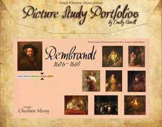 great resource for charlotte mason style picture study