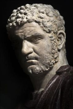Emperor Caracalla - Roman, c CE, Palazzo Nuovo, Rome. Roman Sculpture, Art Sculpture, Stone Sculpture, Sculptures, Ancient Rome, Ancient Art, Ancient History, Rome Antique, Art Antique
