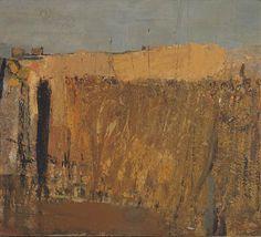 Joan Eardley - The Scottish Gallery, Edinburgh - Contemporary Art Since 1842 Pastel Landscape, Landscape Artwork, Abstract Landscape Painting, Contemporary Landscape, Cardboard Art, Les Oeuvres, Painting Inspiration, Original Art, Wall Street