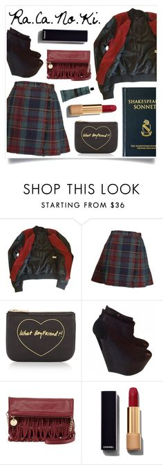 """""""Come On Baby"""" by racanoki ❤ liked on Polyvore featuring Topshop, Rebecca Minkoff, Giuseppe Zanotti, Deux Lux, Chanel, Aesop, women's clothing, women, female and woman"""