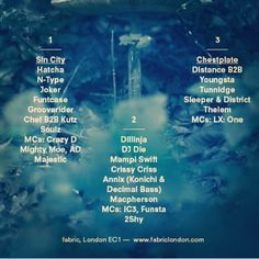 Fabric London Flyer