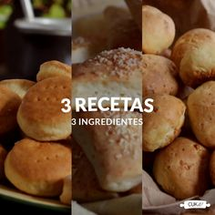 Cheese Biscuits with only 2 Ingredients! Outback Bread, Kitchen Recipes, Cooking Recipes, Bien Tasty, Yummy Drinks, Yummy Food, Gluten Free Appetizers, Cheap Meals, Pain
