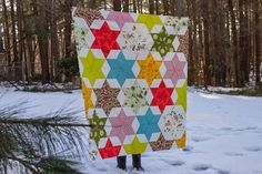 Sing All You Want: Starbright Christmas Quilt