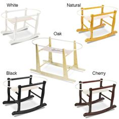 @Overstock - Give your little one a comfortable place to rock and relax with this wooden rocking basket stand from Jolly Jumper. The basket stand provides a gentle rocking motion and can fit most Moses baskets and stroller cots.http://www.overstock.com/Baby/Jolly-Jumper-Wooden-Rocking-Basket-Stand/6682309/product.html?CID=214117 $42.99