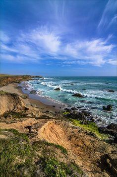 West Coast Highway - California coast