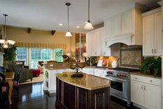 Bridgeford Kitchen Model / Tapestry at Montgomery / Sharbell Development Corporation