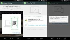 Instrucciones para Whatsapp Web, paso a paso