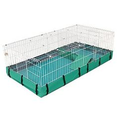 I'm getting this for my New Guinea pig but here has no top which is nice! Her name will probs be smoothie btw!