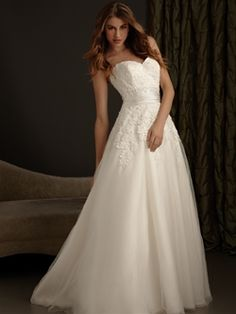 Allure Wedding Gown - Romance Collection - Style #2416