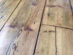 love reclaimed wood floor for the guest house, pine, oak - whatever we can find enough of. Not sure if boards in current house are suitable but would have to be refinished? Reclaimed Oak Flooring, Pine Wood Flooring, Hallway Flooring, Natural Wood Flooring, Pine Floors, Timber Flooring, Kitchen Flooring, Hardwood Floors, Timber Kitchen
