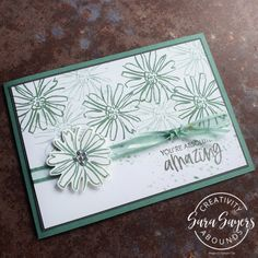 You're Absolutely Amazing Simple in-color cards - KISS Kreative Skeleton Flower, Color Contour, Some Cards, Basic Grey, Flower Images, Off Colour, Color Card, Scribble, Line Drawing