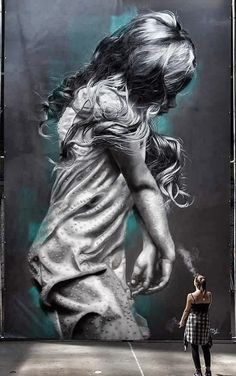 Our selection of street art this month, from all over the world Urban Street Art, Best Street Art, 3d Street Art, Amazing Street Art, Street Artists, Urban Art, Amazing Art, Street Art Banksy, Street Mural