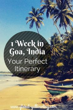 The Perfect 1 Week Holiday in Goa Itinerary Heading to Goa for a holiday? I put together all my local knowledge and insider tips to create the perfect 1 week itinerary with all the best things to do to make the most of your holiday in Goa Goa Travel, India Travel Guide, Travel Tips, Travel Guides, Travel Plane, Travel Europe, Travel Advice, Goa India, India Trip