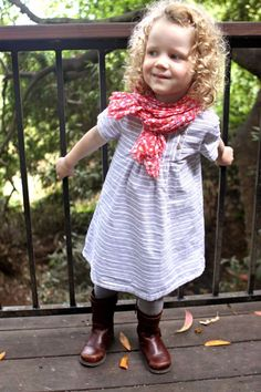 What to Wear to Pre-School. Click through for 5 outfits.  |  Design Mom