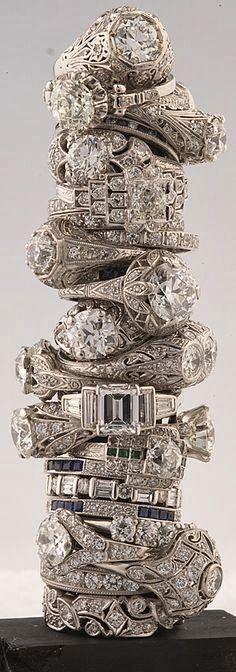 Vintage diamond rings for ladies | Fashion World