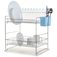 Secaplatos de acero cromado con 2 niveles 8a5105ab8550