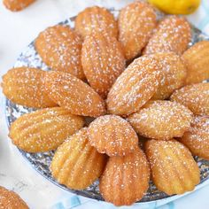 We're making Classic French Madeleines on the blog today! I've been s...