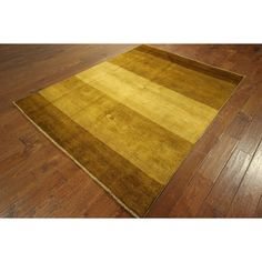 Manhattan Traditional Earth Tone Hand-knotted Gabbeh Area Rug
