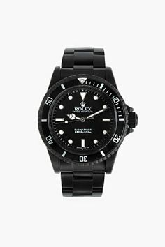 BLACK LIMITED EDITION Matte Black Limited Edition Rolex Submariner 5513