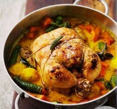 Foto: Low Carb is lekker Banting Recipes, South African Recipes, Chicken Recipes, Chicken Ideas, Lchf, New Recipes, Paleo, Veggies, Low Carb