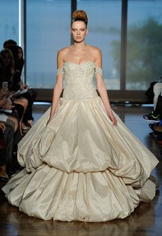 Ines Di Santo Collection Spring 2014 Wedding Dresses Love the top  #weddingdress #dress #wedding