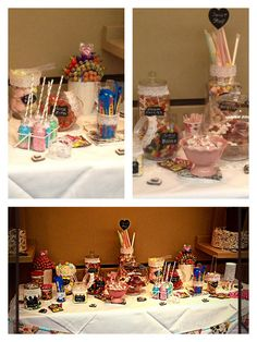 DIY candy table