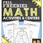 Fun fall-themed activities are great for math centers and give students a fun way to practice the Kindergarten core math standards.
