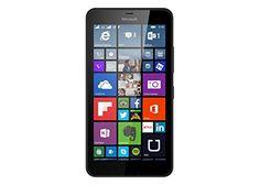 Microsoft Lumia 640 XL LTE Smartphone débloqué 4G (Ecran : 5,7 pouces – 8 Go – Double SIM – Windows Phone 8.1) Noir