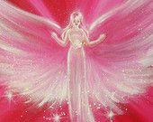 Limited angel art photo believe in your dreams by HenriettesART