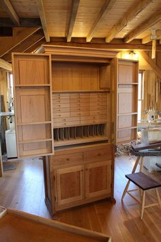 Tool Cabinet - Greg Pennington Fly Tying Storage????
