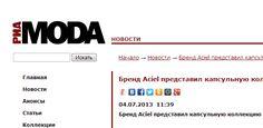 RIA Moda on Aciel collection