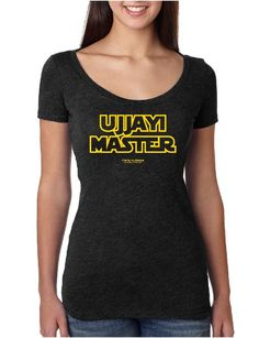 Ujjayi Master - Ladies Scoop Neck Fitted