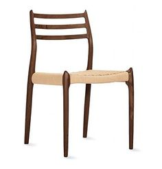 Moller Model 78 Side Chair  -designed by Niels Otto Moller  -seat made of Danish cord   -simplistic, yet durable and beautiful design