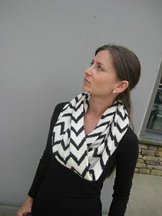 Ravelry: lucky no 7 pattern by Jenny Faifel I love the stripes and the fact that it is an infinity scarf.