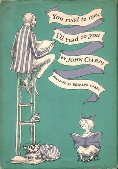 <3 John Ciardi (specifically his poetry and his translation of Dante).