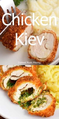 Chicken Kiev is a classic Eastern European dish of tender, juicy, chicken rolled with flavorful herb butter and wrapped in a crispy coat of breading. Learn how to make this amazing, restaurant-quality dinner with a demo video and step-by-step instructions and photos. It will be an impressive and comforting dinner when your guests cut into this crispy chicken and see flavorful warm butter burst out!