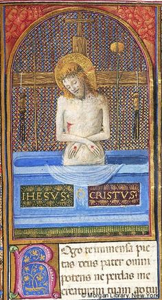 Christ: of Sorrows | Book of Hours | Italy, probably Milan |  ca. 1470 | The Morgan Library & Museum