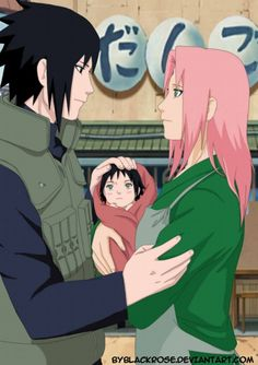 Sasusaku. Okay, there's so much love and emotion in this picture, I can't even describe it!
