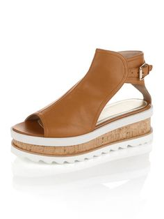 ALBA MODA Peeptoe-Sandalette in modischem Design